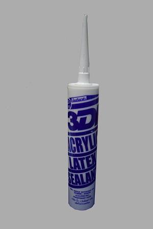 กาวแด๊ป 3DI ACRYLIC SEALANTS 450 g. (กาวอะคลิลิคสำหรับยาแนว)